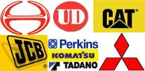 Spare parts for Hino, Nissan UD, Mitsubishi, Tadano Engines, P&H Engine parts available in Abu Dhabi, U.A.E